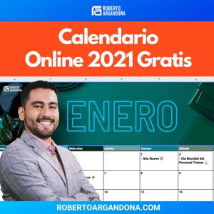 Calendario de Contenidos 2021 Gratis