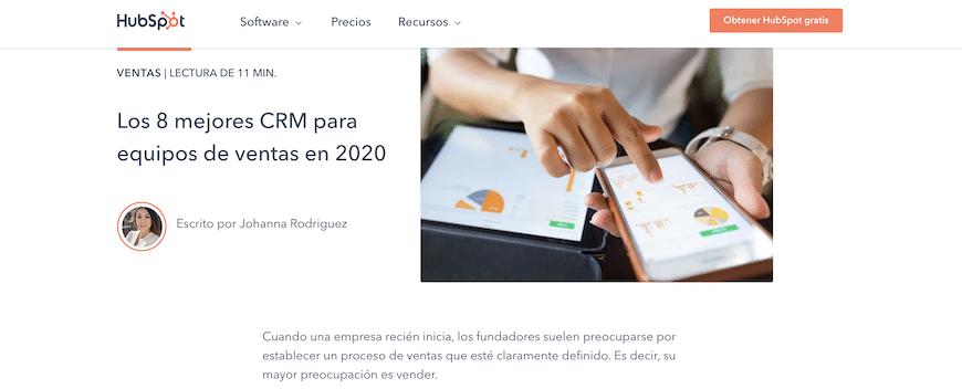 Ranking CRM 2020