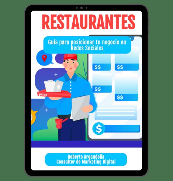 Ebook Restaurantes 2021 Redes Sociales