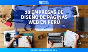 Empresas de diseño web en perú